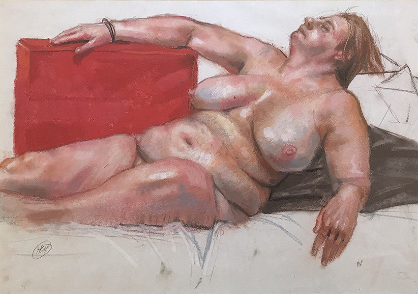 H Craig HANNA Red Pillow 2018