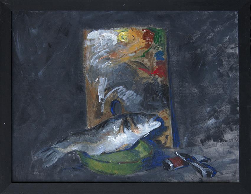 Adrien Eyraud La Palette du peintre 2016