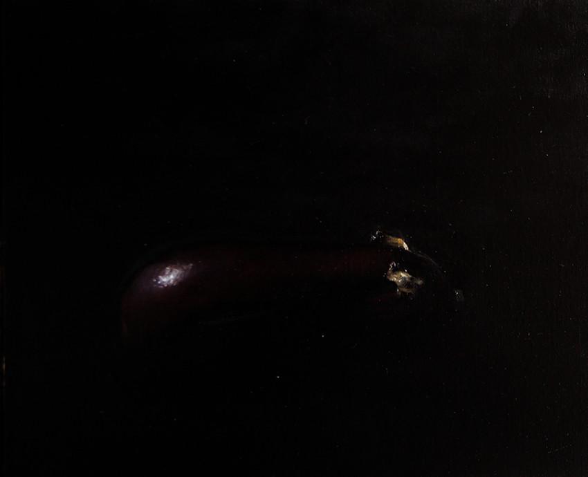 Adrien Eyraud Méditation IX - L'aubergine 2018