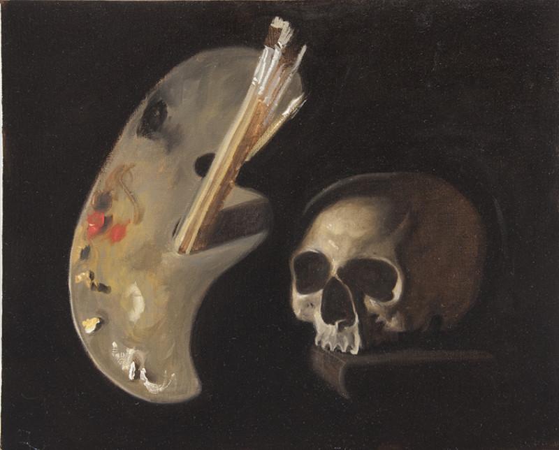 Adrien Eyraud Vanité de le peinture 2017