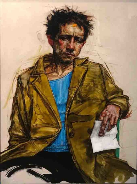 H Craig HANNA Man with a letter 2019