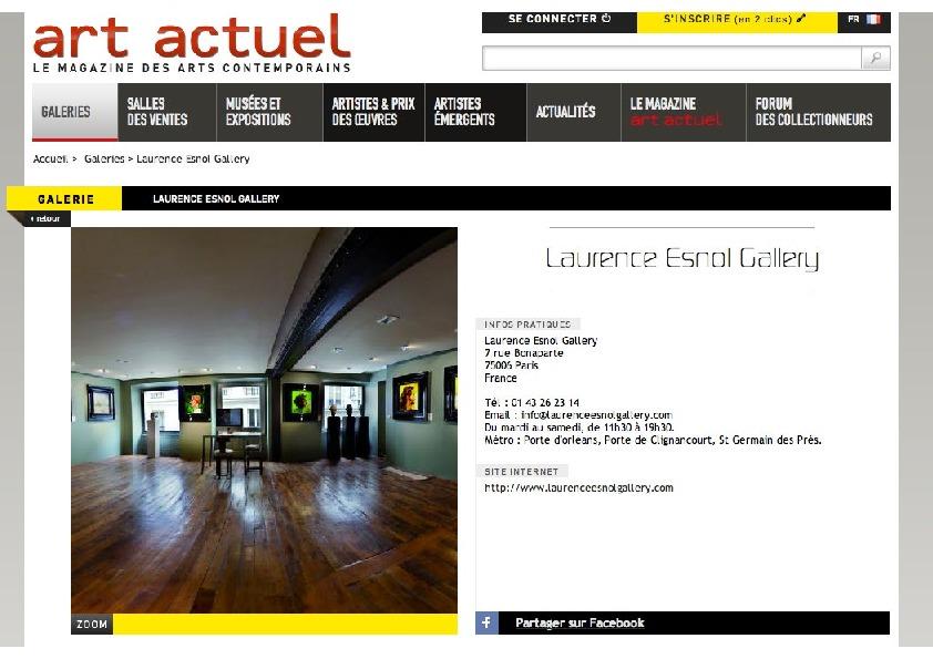 thumbnail of Art Actuel