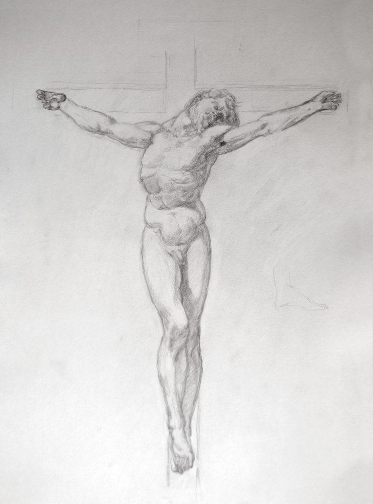 Adrien Eyraud Calvaire, Christ 2021