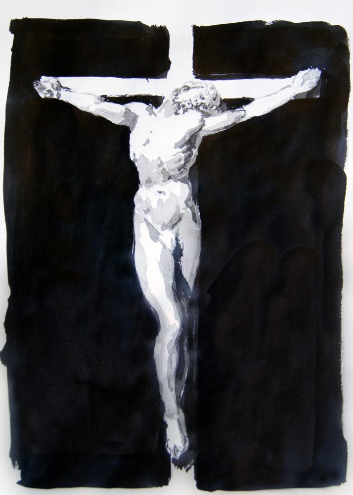 Adrien Eyraud Calvaire, Christ II 2021