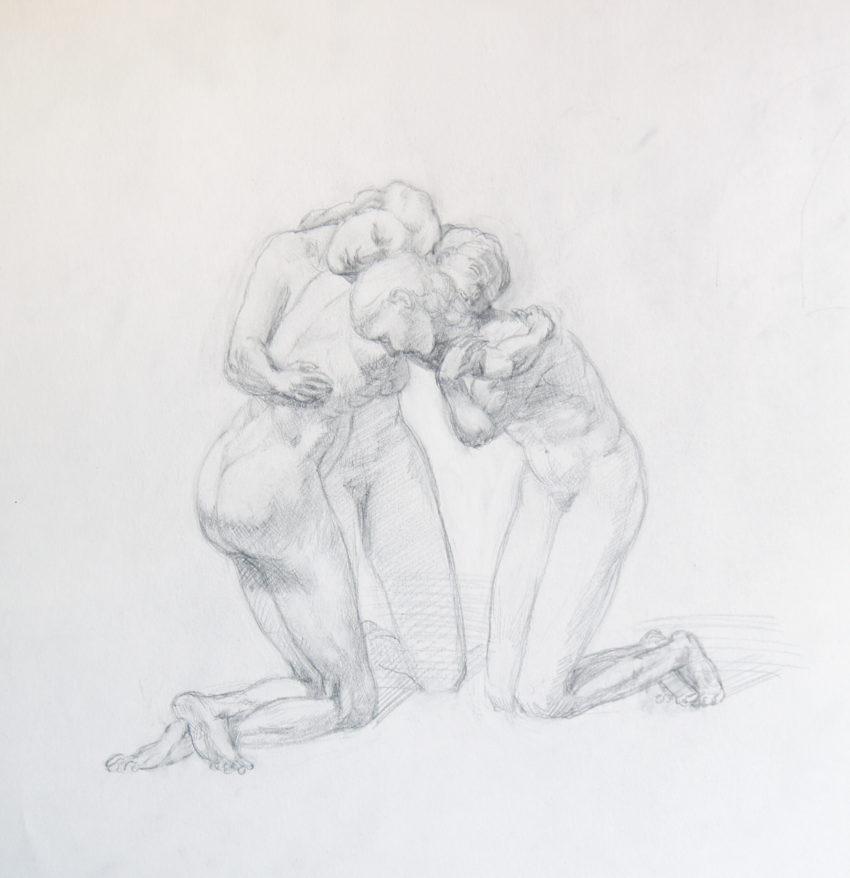 Adrien Eyraud Calvaire, Pleureuses 2021