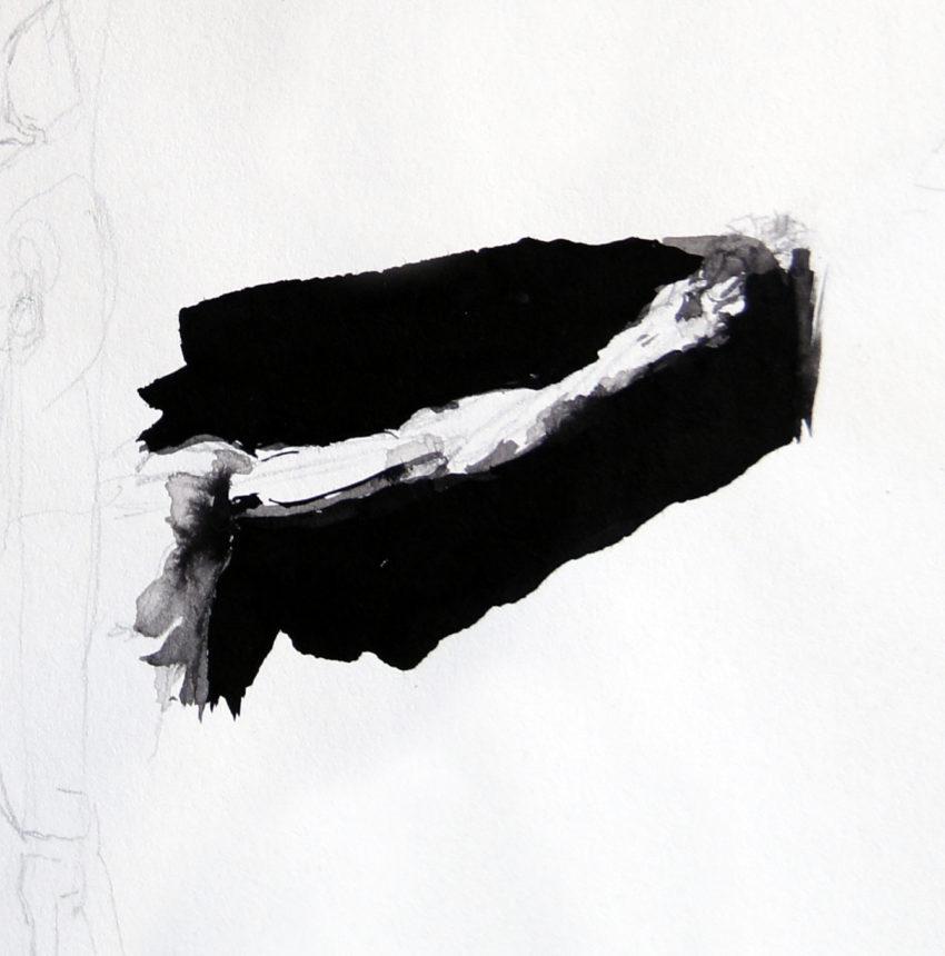 Adrien Eyraud Calvaire, etude de bras 2021