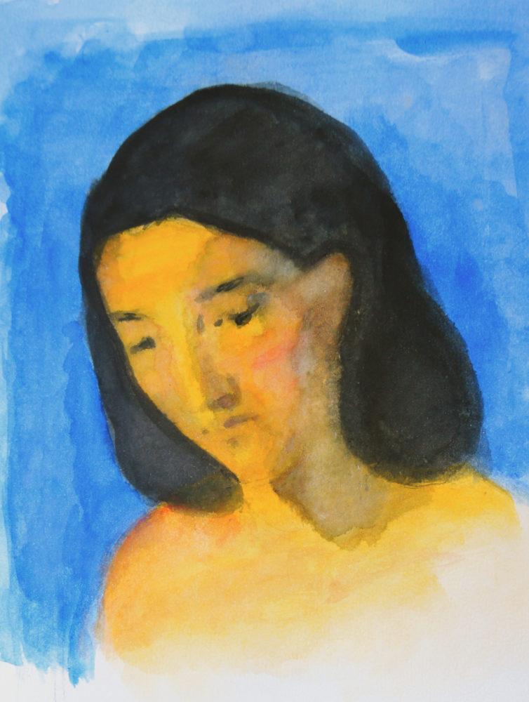 Adrien Eyraud Portrait jaune 2019