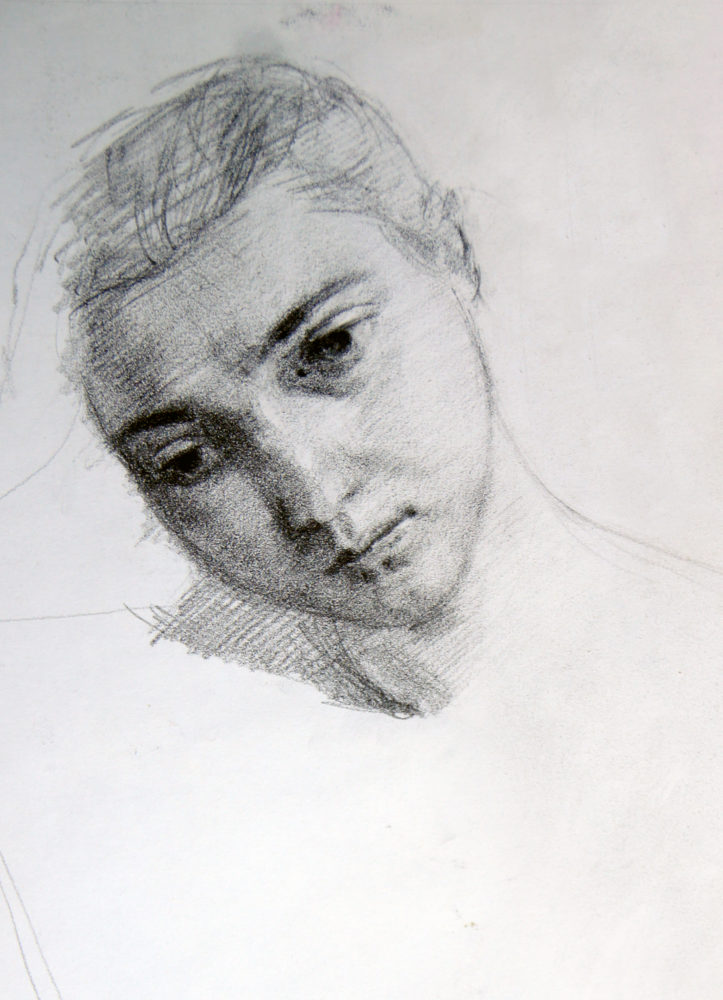 Adrien Eyraud Portrait de Maria II 2019