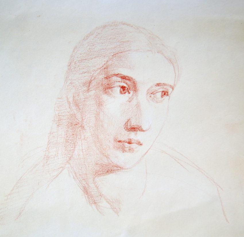 Adrien Eyraud Portrait de Maria 2018