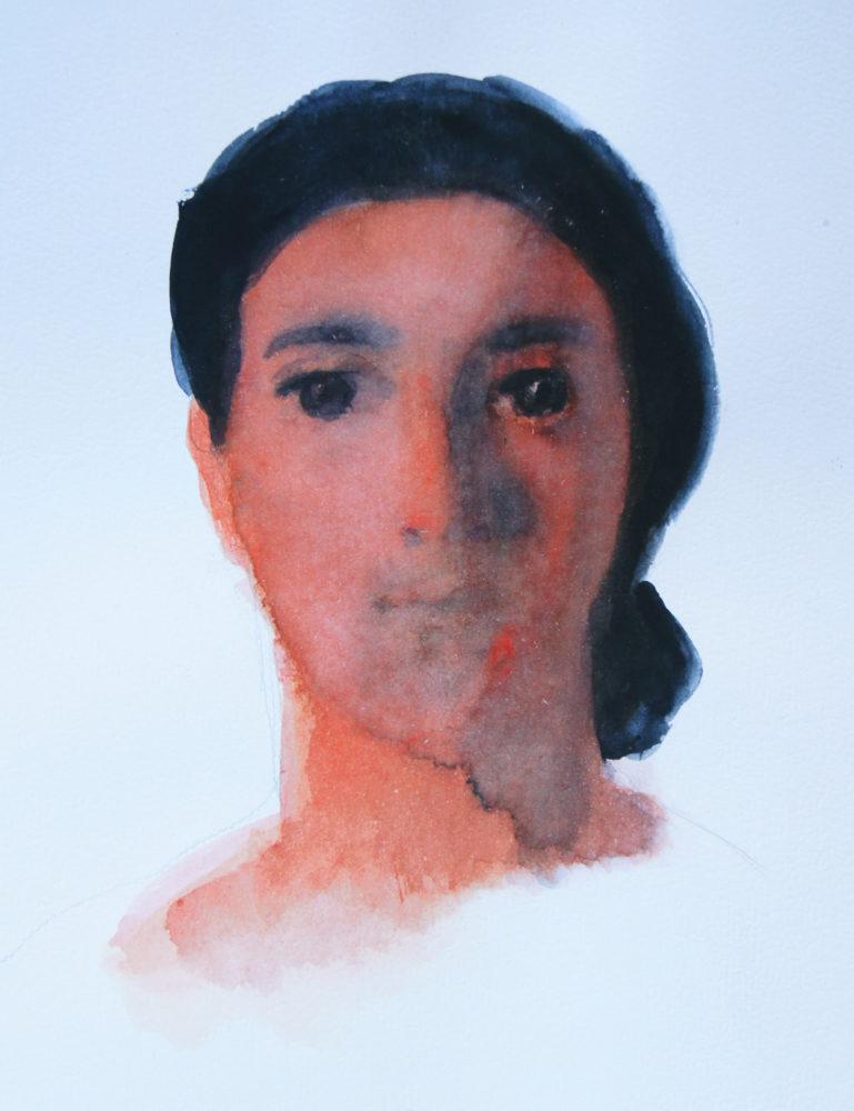 Adrien Eyraud Portrait rose 2019