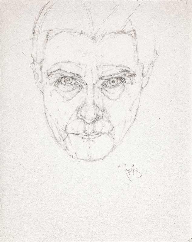 Maja Wisniewska Autoportrait 1 2021