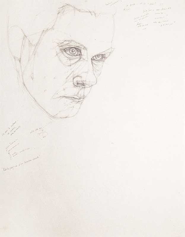 Maja Wisniewska Autoportrait 2 2021